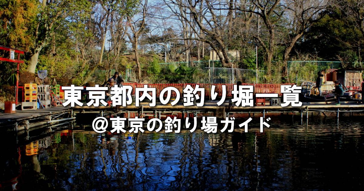 東京都内の釣り堀ガイド