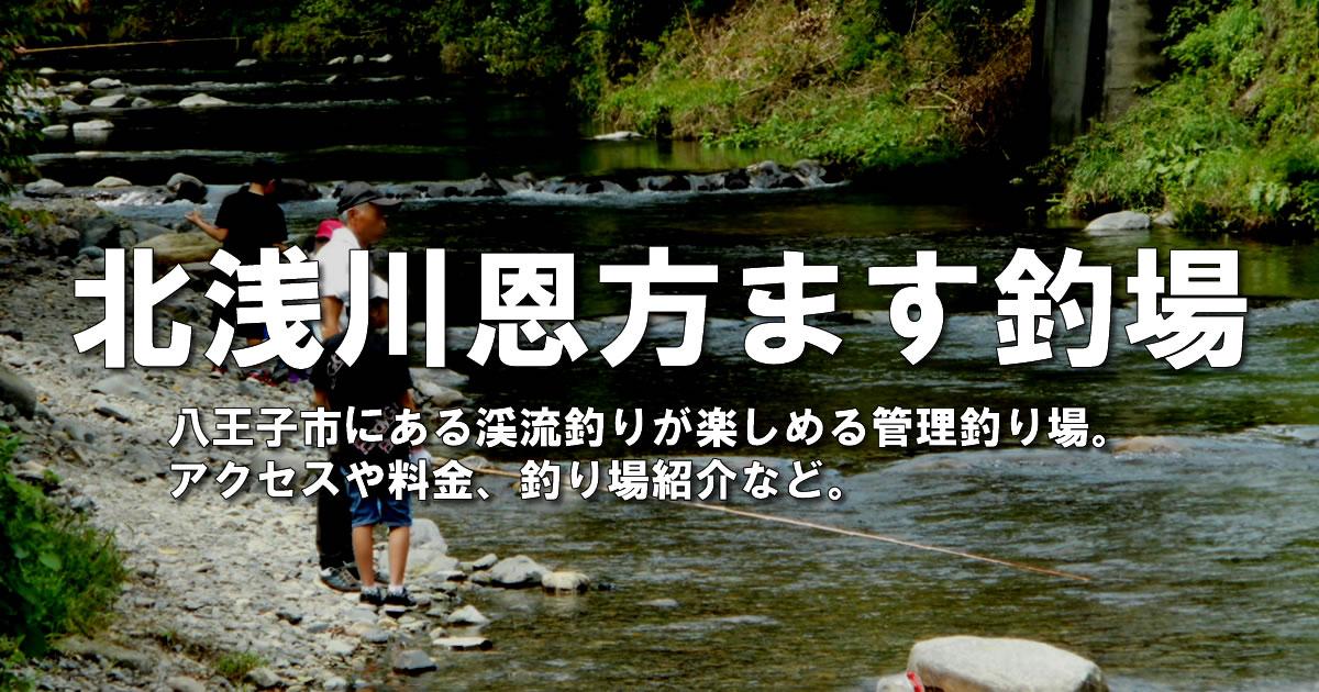 北浅川恩方ます釣場ガイド