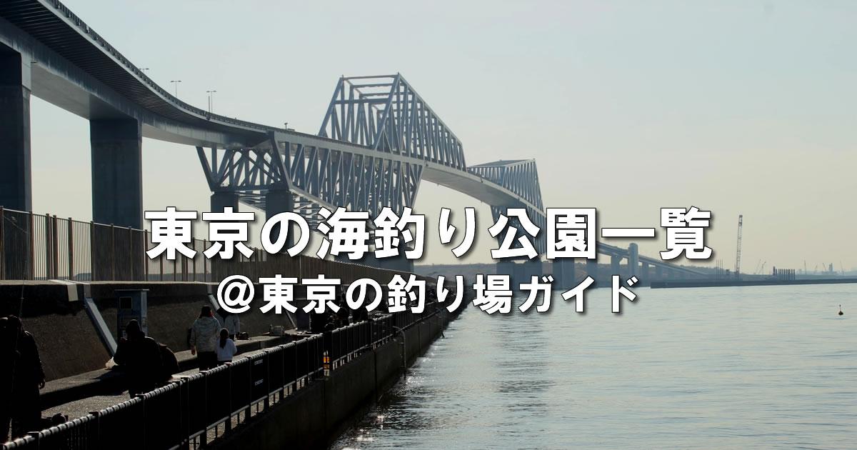 東京の海釣り公園ガイド