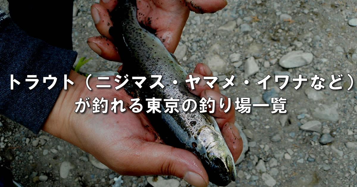 東京都内のエリアトラウト一覧